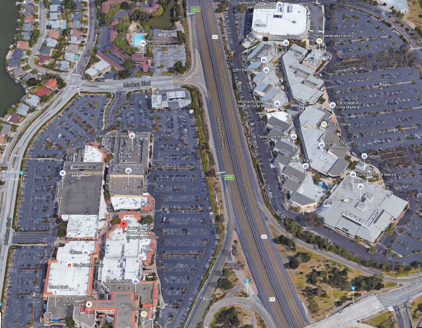 Marin's Regional Shopping Centers and Retail Malls's screenshot